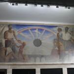 """Imagen Mural """"Historia de Concepción"""" de Gregorio de la Fuente"""