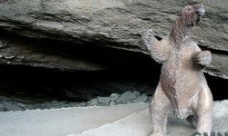Imagen Cueva del Milodón (cueva grande y cueva chica) y el conjunto rocoso denominado Silla del Diablo