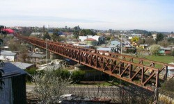 Imagen Puente Ferroviario sobre el río Chol Chol