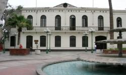 Imagen La Estación del ferrocarril de Arica - La Paz y su andén