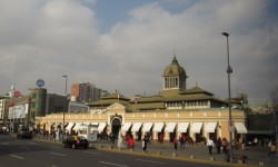 Imagen Mercado Central de Santiago