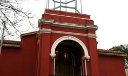 Imagen Torre, atrio y uno de los muro de la Iglesia de la Inmaculada Concepción