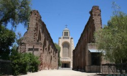 Imagen Muros de la antigua Iglesia de Maipú