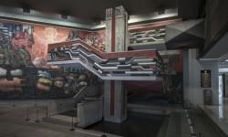 """Imagen Mural """"Presencia de América Latina"""""""