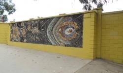 """Imagen Mural """"Vida Oceánica"""" de María Martner"""