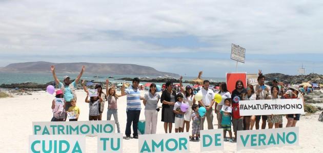 """Consejo de Monumentos lanza campaña en redes sociales para protección patrimonial """"Cuida tu amor de Verano"""""""